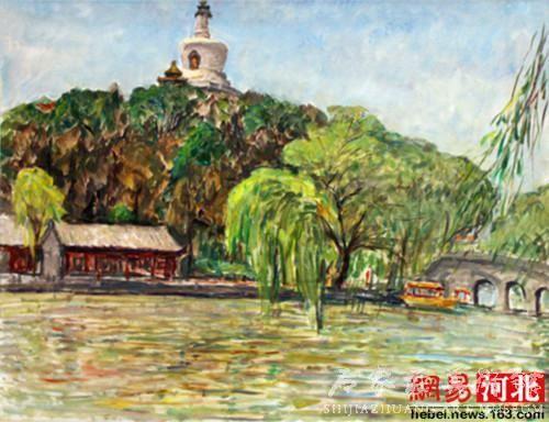 中法文化大碰撞 穿越东西油画作品展亮相石家庄
