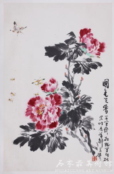 《花鸟鱼虫》 王雪涛 国画