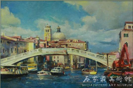 《威尼斯风景》  张文新  70×105